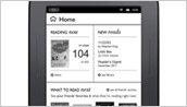 NOOK Simple Touch Home screen