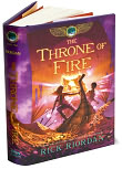 Book Cover Image. Title: The Throne of Fire (Kane Chronicles Series #2), Author: Rick Riordan.