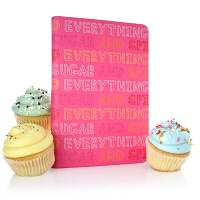 Product Image. Title: Sugar and Spice Cover in Pink.