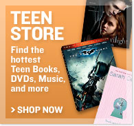 Teen Store - Find the hottest Teen Books, DVDs, Music, and more - Shop Now