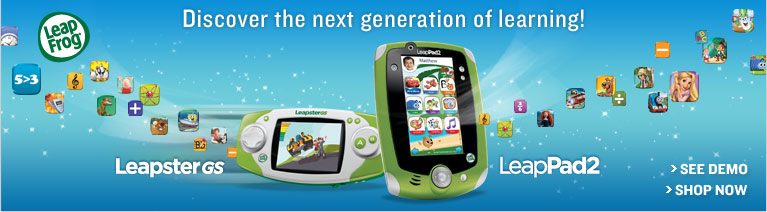 Leap Frog - Discover the next generation of learning! Leapster GS LeapPad2.