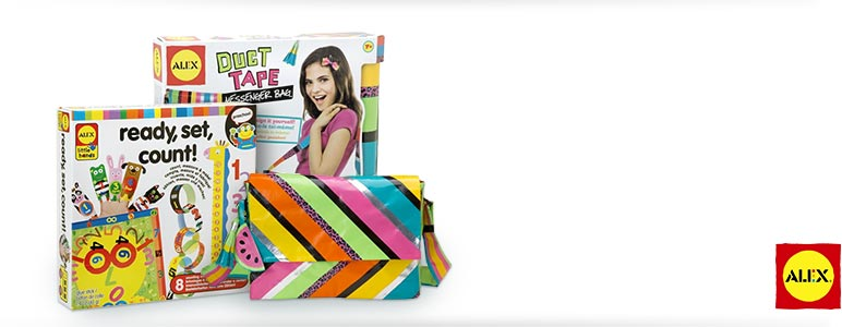 Duct Tape Messenger Bag; Ready, Set, Count