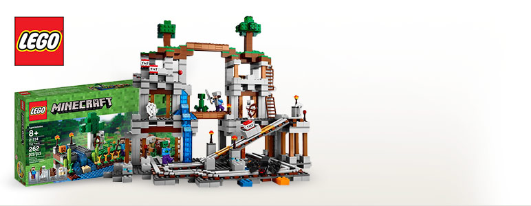 LEGO Minecraft - New Minecraft Themed Building Sets!
