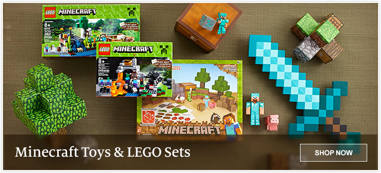 Minecraft Toys & Lego Sets