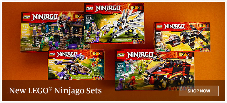 New LEGO Ninjago Sets
