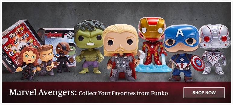 Marvel Avengers - Collect Your Favorite from Funko