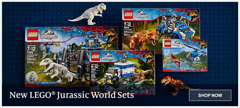 New LEGO Jurassic World Sets