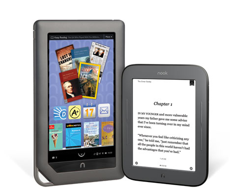 NOOK Color &amp; The All-New NOOK