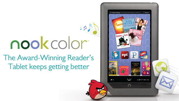 NOOK Color - The Award-Winning Reader's Tablet keeps getting better