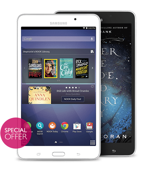 Samsung Galaxy Tab® 4 NOOK®