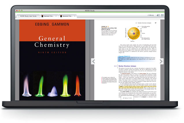 NOOK Study - General Chemistry