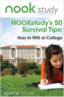 NOOK Study's 50 Survival Tips